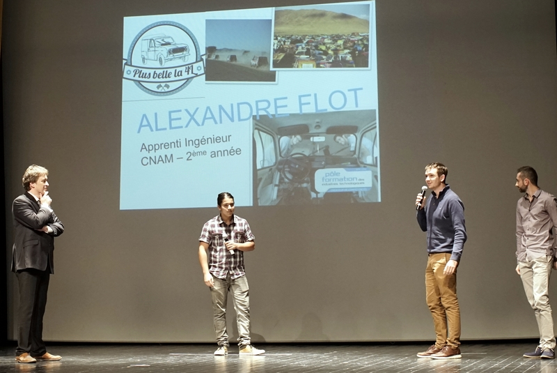 Alexandre Flot 4L trophy