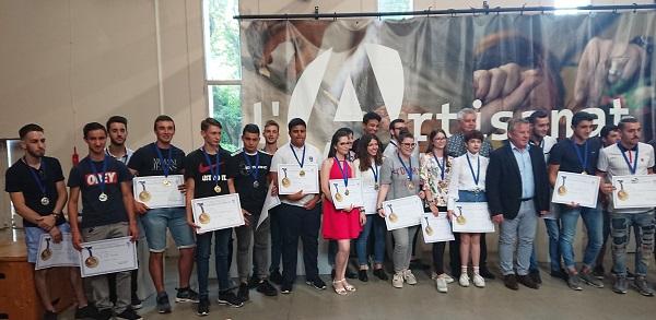 remise des médailles MAF soudure Avignon 2018