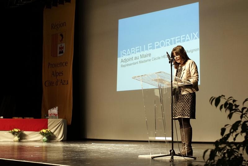 Discours Isabelle Portefaix