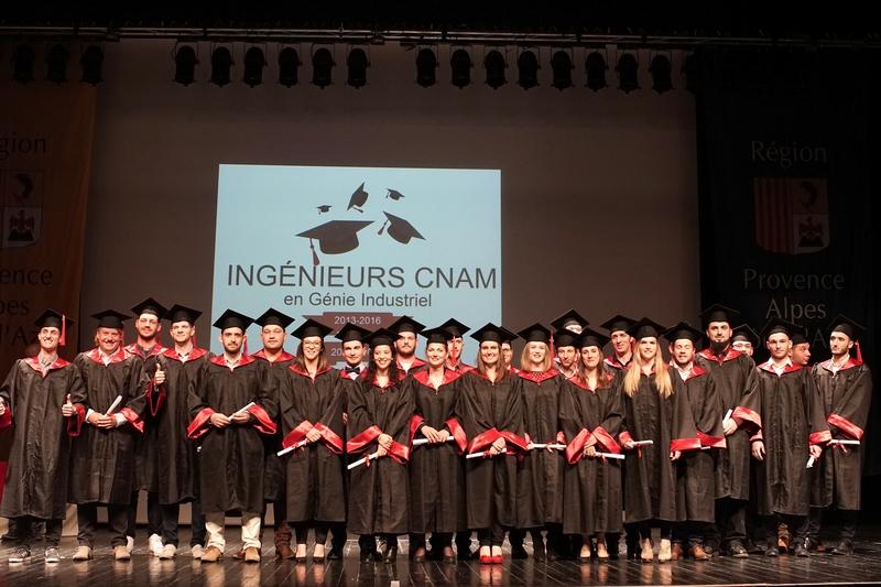 remise des diplômes aux ingénieurs CNAM 2013 et 2014