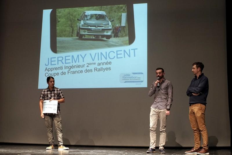 Jérémy Vincent et la coupe de France des Rallyes