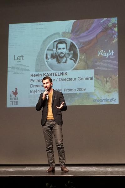 Kevin Kastelnik pour Dreaminzz