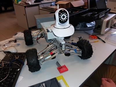 Robot d'exploration