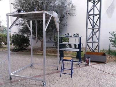 Simulateur de pluie