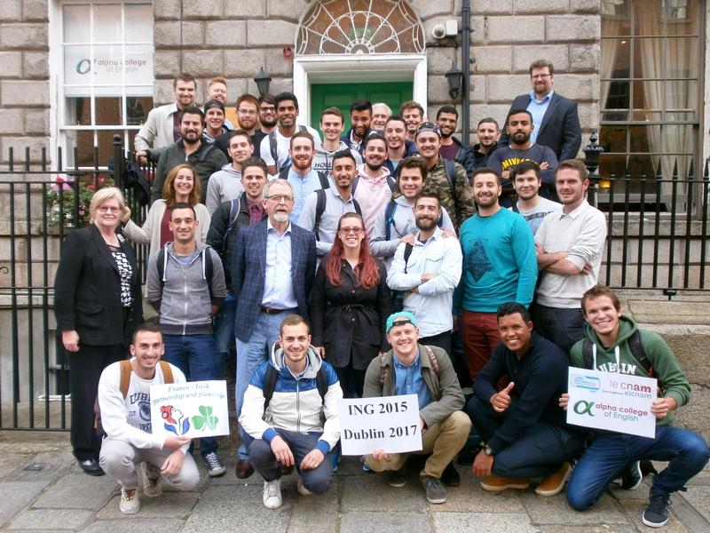 Les Ingénieurs CNAM du Pôle Formation Vaucluse à Dublin 2017