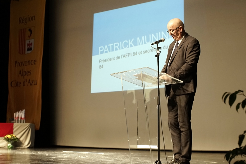 Discours Patrick Munini